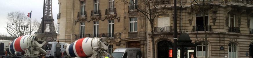 Ragréage à Paris et dans toute l'Ile-de-France