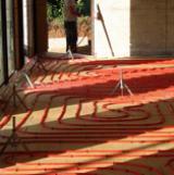 Création de plancher chauffant