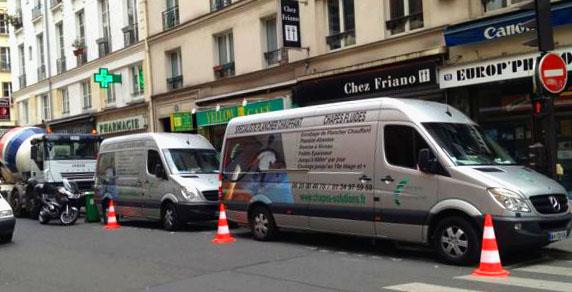 Camion de chapes-solutions